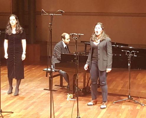 "West Side Story : ""A boy like that"" , L. Bernstein (en duo avec Marina Viotti, mezzo-soprano / Yakir Arbib au piano)"
